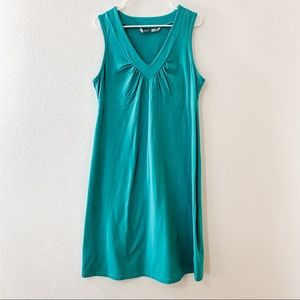 Athleta Senorita Sleeveless Teal Green Dress XLT